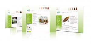 Webdesign für die Firma Biova