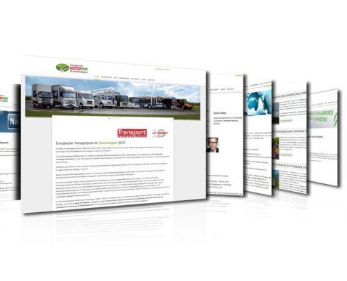 Webdesign Transportbranche