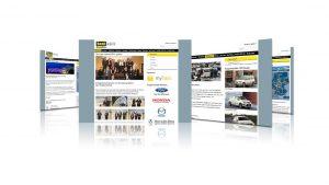 Webdesign Event Taxi des Jahres